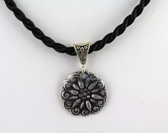 Art Clay Pendant. Listing  154753790