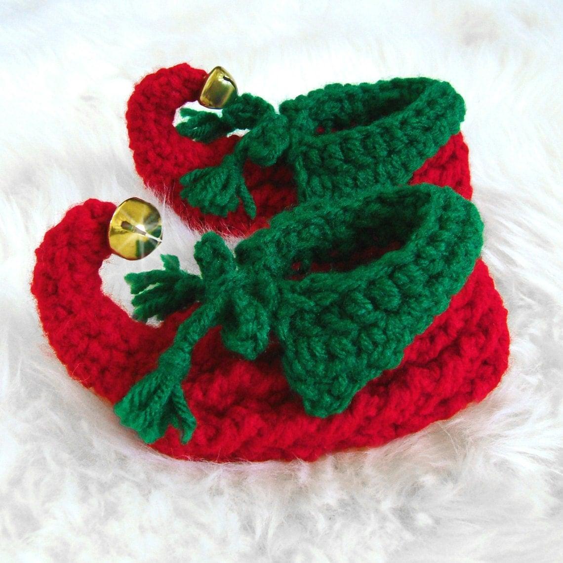 New 117 Elf Baby Booties Crochet Pattern Baby Booties