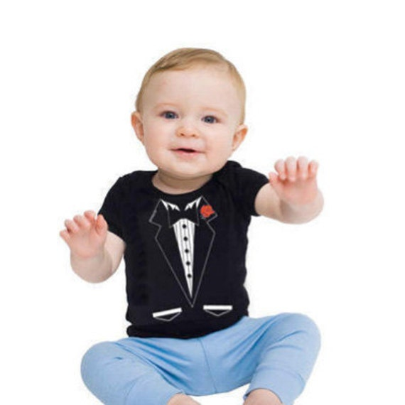 Tuxedo Baby T-Shirts are perfect for Baby! Ultra soft % cotton t-shirts are the perfect gift for newborn birthdays, Mother's Day, baby showers or any occasion.