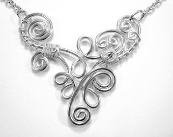 Dancing Spiral Adjustable Necklace