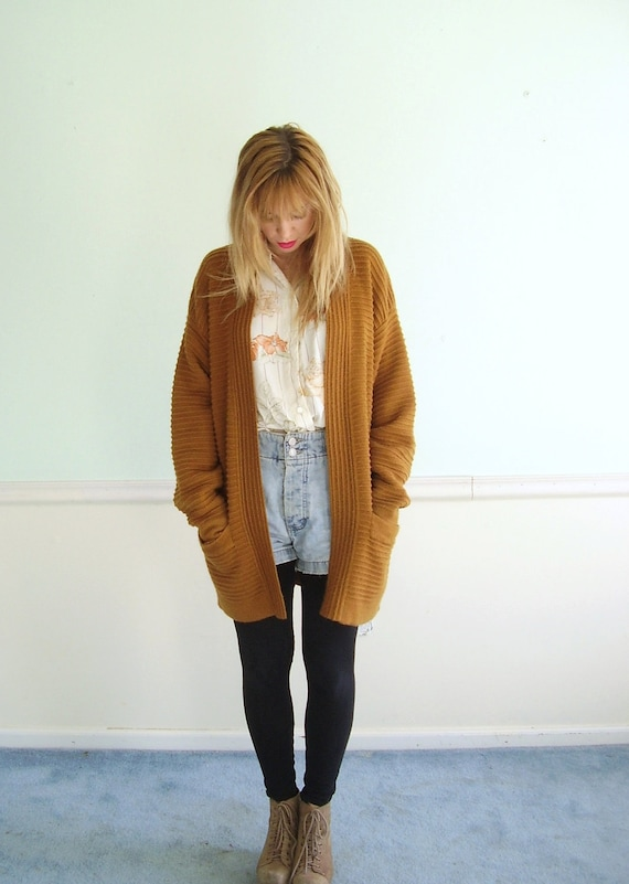 Womens Yellow Sweater