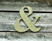 Large Ampersand & Wall Art Sign and Photo Prop for Parties Weddings Engagement Home Decor