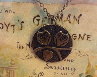 Owls in Love (nickel and lead free)