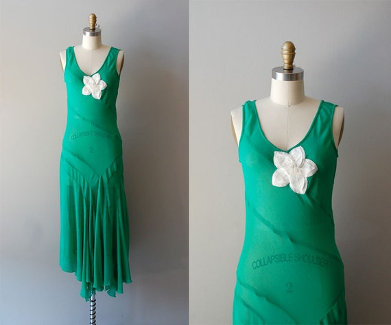 1930s dress / silk 30s dress / Josephine dress