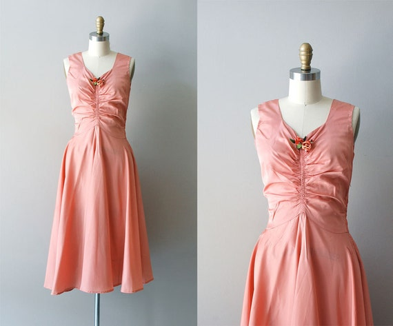 1930s dress / 30s dress / Beautiful Dreamer dress