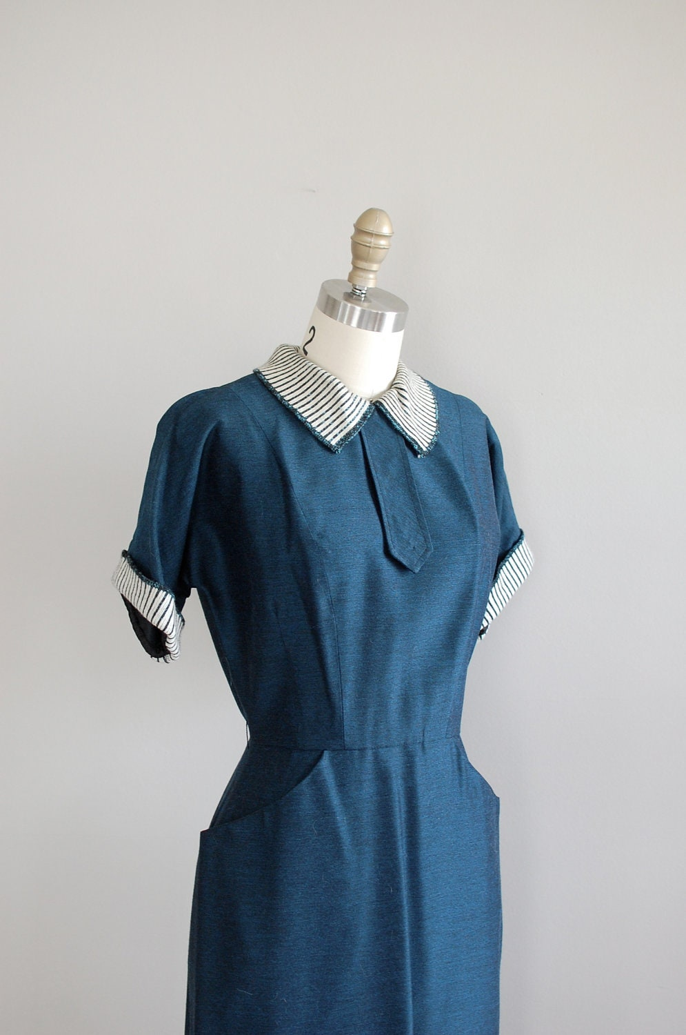 50s Dress Vintage 1950s Dress Minor Secrets Dress