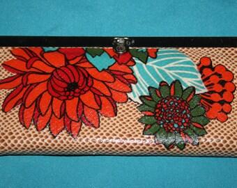 Floral Wallet / Clutch