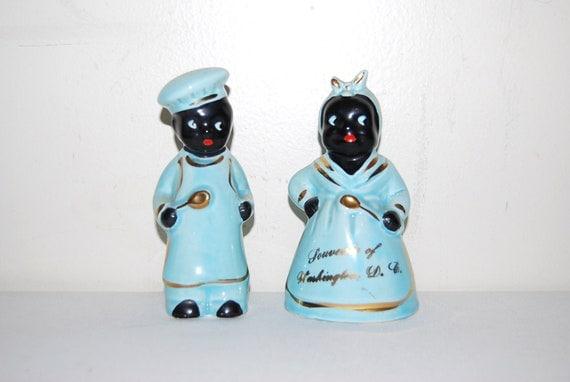 Vintage Salt and Pepper Shakers Americana