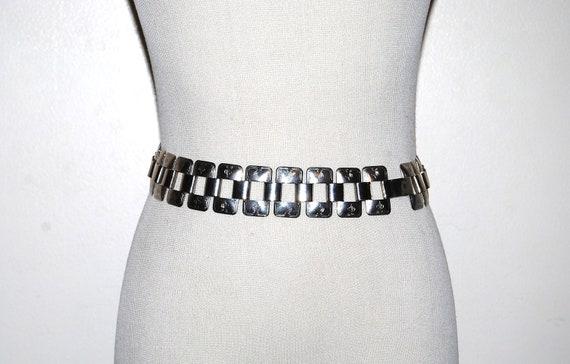 Vintage Belt Chain Link