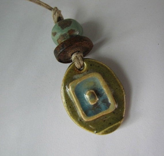 Olive Green Blue and Brown Design Set