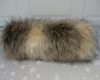 Faux Fur Hand MUFF, Women's Hand Muff, Faux Fur Muff,  Handmuff, Long Fur Muff