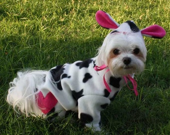 Cute Cow Pet Halloween Costume for Dogs