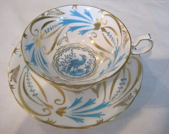 vintage Royal Chelsea cup and saucer