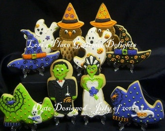 Halloween Cookies - Halloween Cookie MIX Deluxe - 10 Cookies