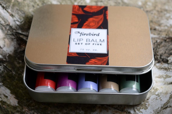 For Lip Balm Addicts - Gift Set of 5 Lip Balms