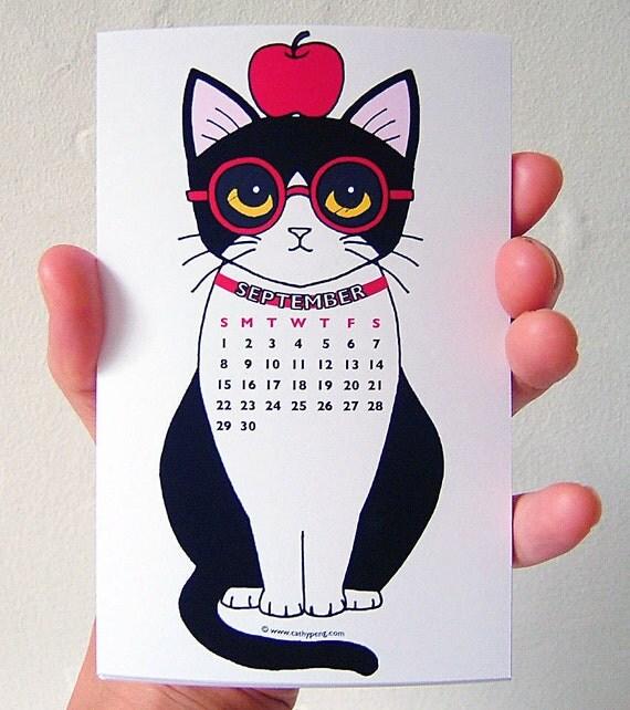 2014 Miniature Tuxedo Cats Calendar