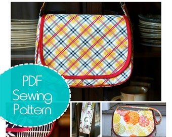 Mirabelle Messenger Bag PDF Sewing Pattern