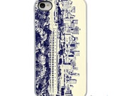 On Sale! Boston Massachusetts Skyline with White or Black Sides iPhone Case - IPhone 4, 4s, 5, 5s,5C Hard Cover - Unique - artstudio54