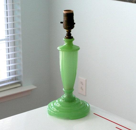 Houzex Jadite Lamp