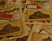 Antique French Magazine and  Ephemera Bundle