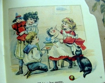 Vintage New/Deadstock Story Picture Book Dolly in Town Makes a Wonderful Gift