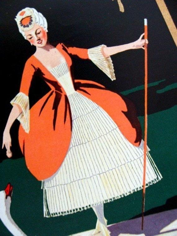 Amazing 100 Year old French Lady Luxury Promotional Perfumer