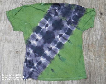 Camouflage Bandolier Tie Dye T-Shirt (Fruit of the Loom Size L) (One of a Kind)