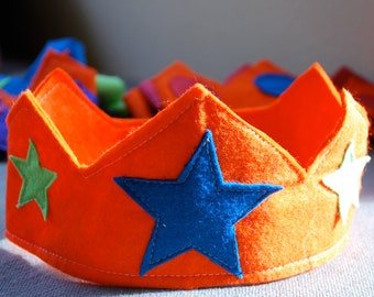Party Time Wool Felt Crown