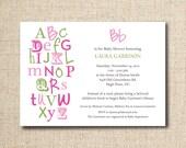 Baby Shower Invitations...Custom, Printable Digital File
