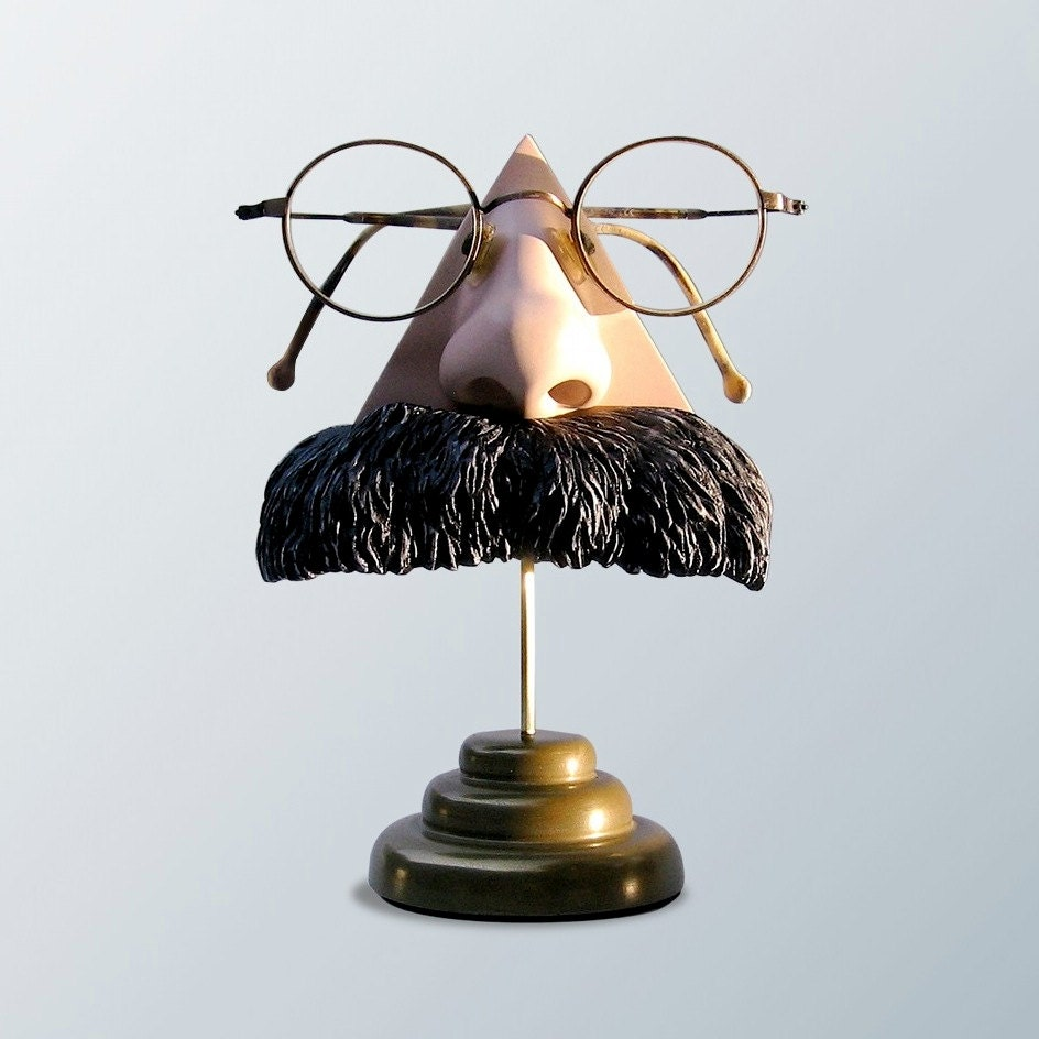 Eyewear Display Art Object Nietzsche Nose Eyeglass figurine