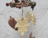 Memory Leaves Memorial  Wind Chime Personalized