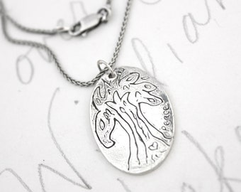 tree of life necklace . sterling silver rumi quote necklace . inspirational necklace . sterling silver chain . ready to ship gift