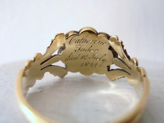 Sale Vintage Victorian Flower Ring