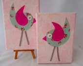 Oh so tweet....Peppermint on Pink DUO Free shipping Australia