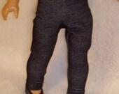 18 inch Doll Indigo Blue Jeggings