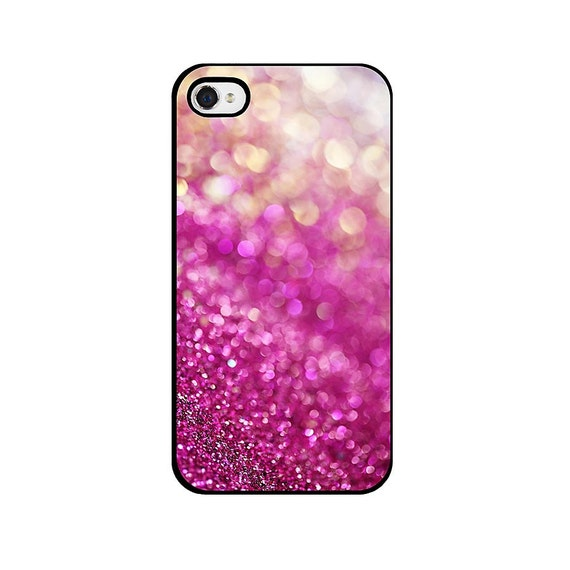 Abstract Glitter iPhone 4 Case