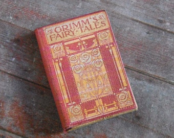 Miniature Book --- Grimm's Fairy Tales