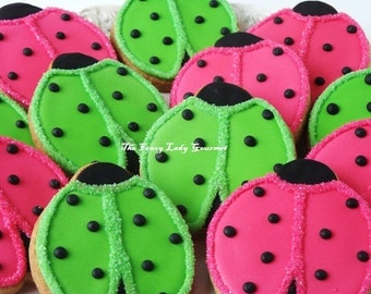 Lovely Lady Bug Cookies 1 dozen