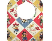 Yippee Reversible Bib with snap closure