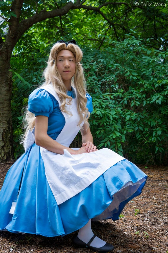 Alice In Wonderland Inspired Costume Set By Allengale On Etsy
