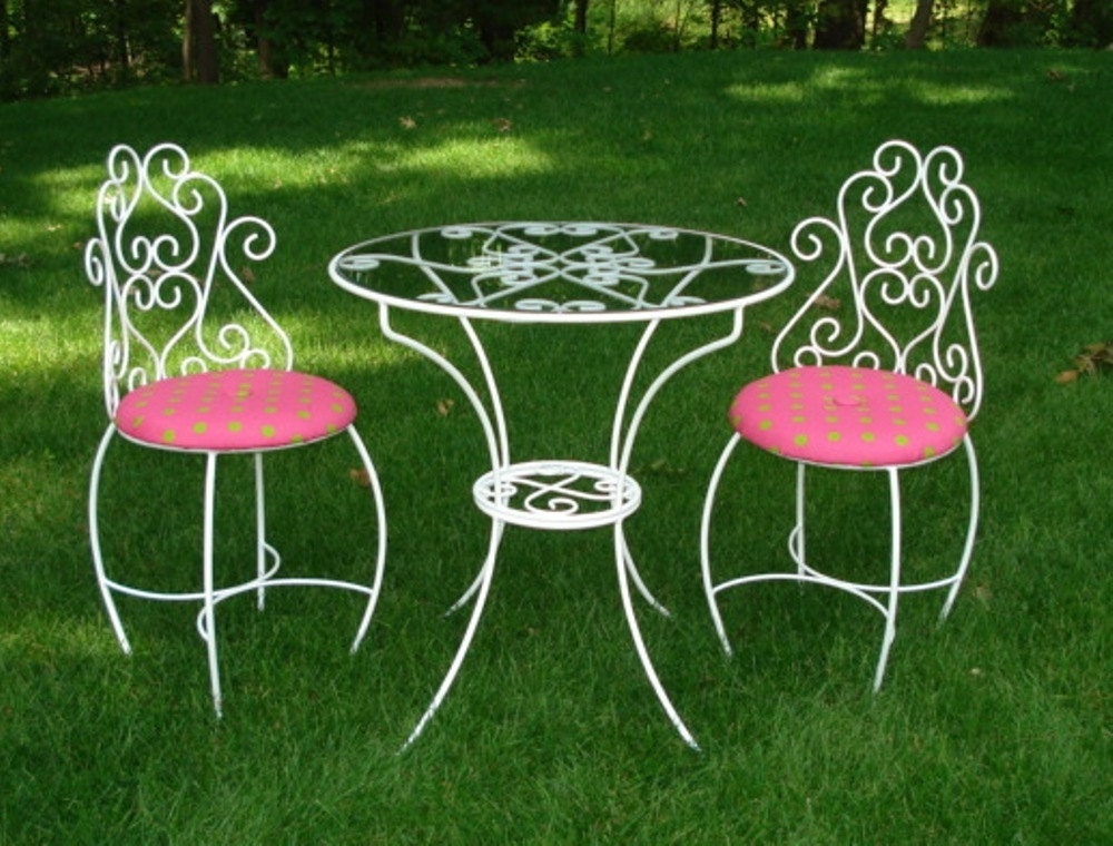 Items Similar To Kids Tea Party Table And Chairs Set