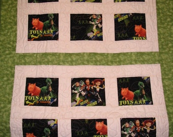 Toy Story Disney Quilt Home Made