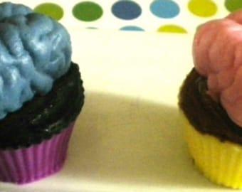 Soap - Brain Soap - Halloween Soap - Soap fpr Kids - Brain - You Choose Colors/Scent - Party Favors