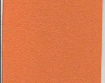 Pure Wool Felt Sheet - Salmon - Various Sizes