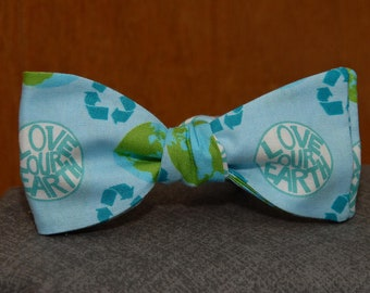 Love Our World Recycling  Bow tie