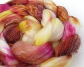 Superwash Merino Tencel - Candle Flame - 4.1 oz.