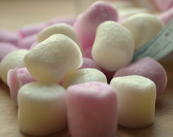 Mini Marshmallow Soap - Vegan Candy Soap- Valentines Day