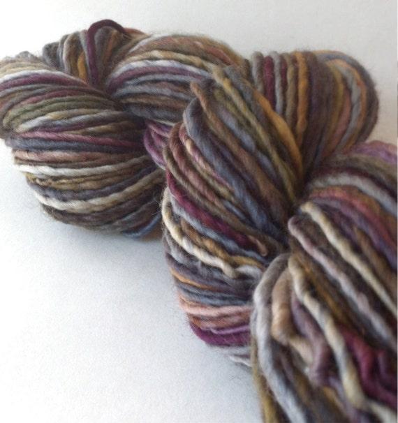 Chicken Payback - worsted weight handspun yarn