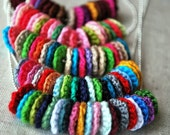 Friendship Crochet Necklace All My Friends. Create Your Own Color Trend - ONE necklace for the price of 23