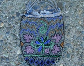 20s Beaded Purse Vintage 1920s Silk